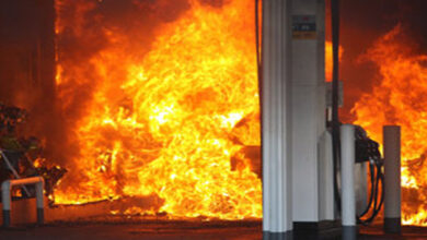 Photo of BREAKING NEWS: Abeka Junction Shell fuel station on fire