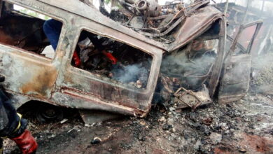 Photo of Horror on Kintampo highway, as accident claims 30 lives – all burnt beyond recognition
