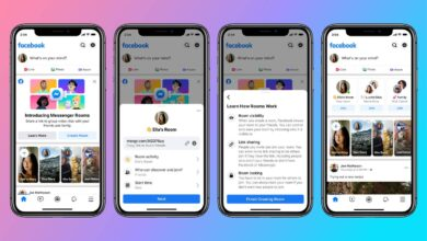 Photo of Facebook set to battle Zoom and Houseparty as they introduce Messenger Rooms to meet demand for video conferencing