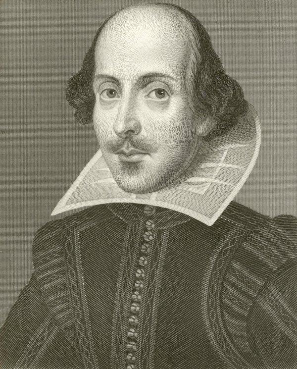 William Shakespeare, English playwright - Stock Image