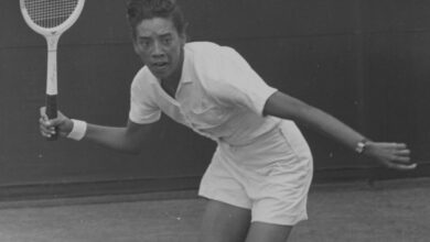Photo of On this day July 5th 1957, Althea Gibson is first African American to win Wimbledon