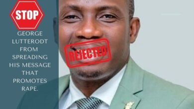 """Photo of Ban """"Counselor"""" George Lutterodt from all TV and Radio stations – Social media petitions"""