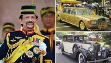 Photo of Meet Sultan Hassanal Bolkiah, the man who owns 500 Rolls-Royce, has many expensive cars, and pays $20,000 for haircuts