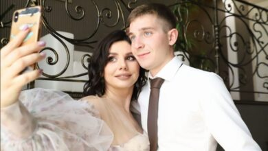 Photo of VIDEO: A 35-year-old woman has married her 20-year-old stepson she's been raising when he was 7 years after divorcing his father