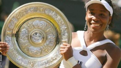 Photo of On this day July 9th 2000, Venus Williams wins Wimbledon for the first time